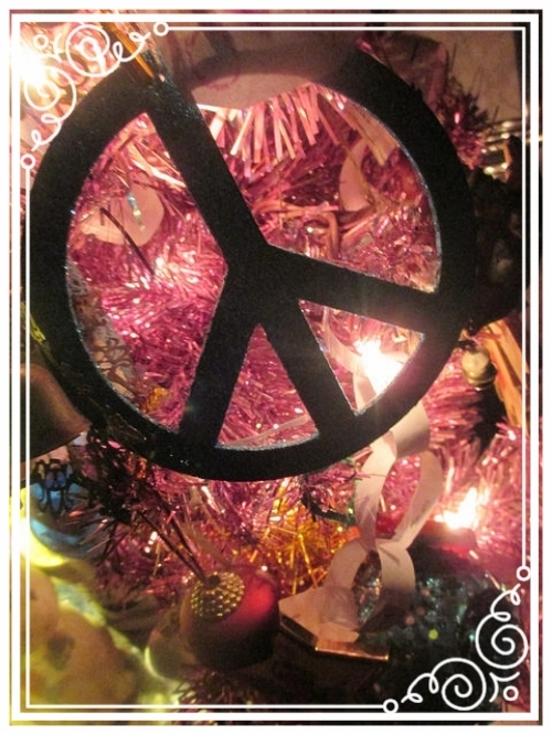 The peace of nighttime, perfectly exhibited on a Christmas tree.