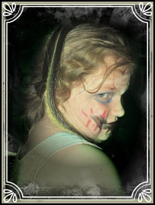Frightfully Pretty Profile Portrait