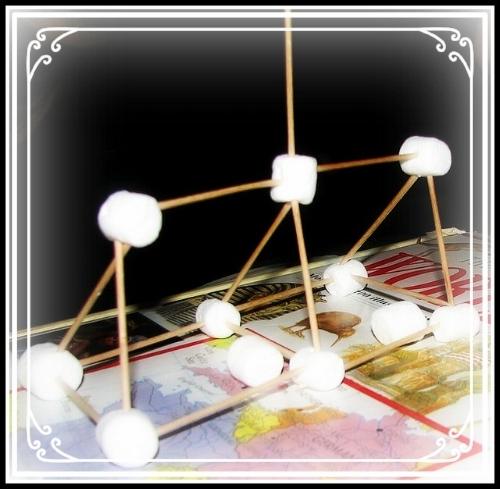 Midnight Marshmallow Toothpick engineering!